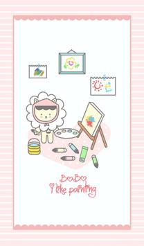bobo (i like painting) 카카오톡 테마 poster