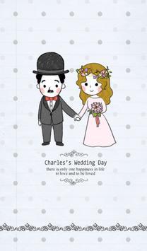 찰리(웨딩데이) 카카오톡 테마 poster
