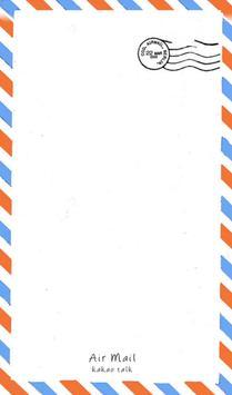 에어메일 카카오톡 테마 poster