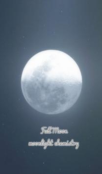full moon 카카오톡 테마 poster