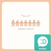 Rainbow Cookies 카카오톡 테마 icon