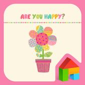 Are You Happy? 도돌런처 테마 icon