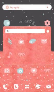 SherbetBear(sweetdream) 도돌런처테마 apk screenshot