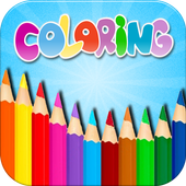 Kids Coloring Book Box icon