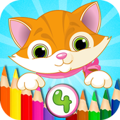 Coloring Book - Childhood icon