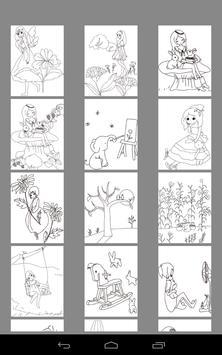 Coloring Book - Childhood screenshot 3