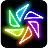 Magic Paint Kaleidoscope icon