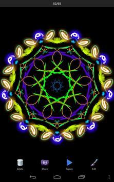 Magic Paint Kaleidoscope poster