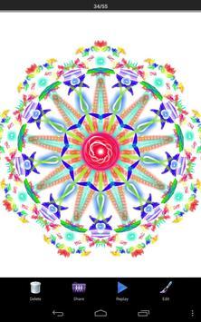 Magic Paint Kaleidoscope screenshot 1