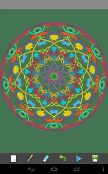 Magic Paint Kaleidoscope screenshot 2