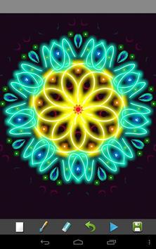 Magic Paint Kaleidoscope screenshot 3