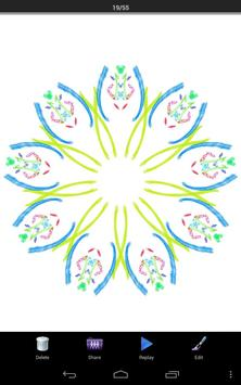 Magic Paint Kaleidoscope screenshot 6