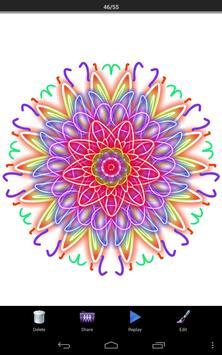 Magic Paint Kaleidoscope screenshot 7