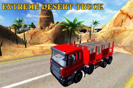 Extreme Desert Truck Cargo poster