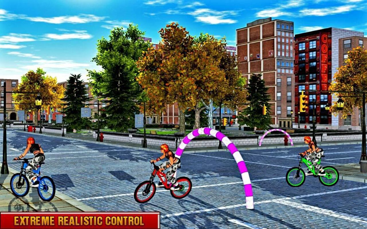 Rooftop Bicycle Stunts Rider Free Games APK Download ...