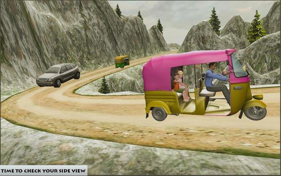 Mountain Auto Tuk Tuk Rickshaw poster