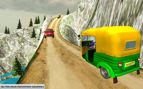 Mountain Auto Tuk Tuk Rickshaw apk screenshot