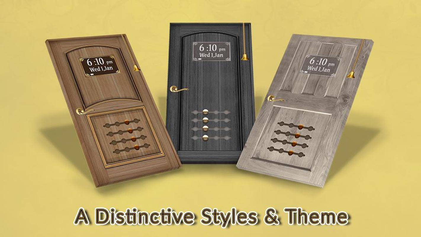 Doorlock Screen Gate Locker Con Contrase 241 A For Android