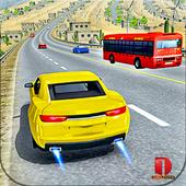 Modern Car top drift Traffic Race- free games icon