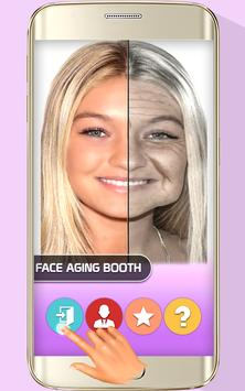 Face Aging Booth Aging Effects poster