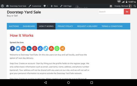 Doorstep Yard Sale apk screenshot