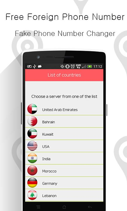 Foreign Phone No Changer PRANK cho Android - Tải về APK