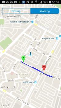 GPS Route Finder screenshot 2