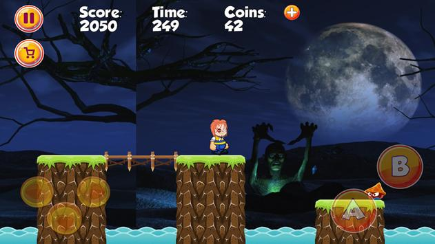Doll killer CHUCKY adventure game - FREE apk screenshot