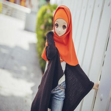 Beauty Doll Hijaber Wallpapers apk screenshot