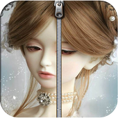 Cute Doll Screen Lock icon
