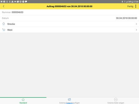intertrans driver-app screenshot 1