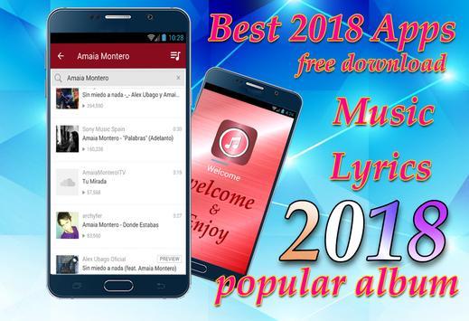 Amaia Montero - Los abrazos rotos New Songs&Lyrics screenshot 1