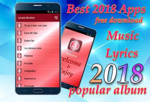 Amaia Montero - Los abrazos rotos New Songs&Lyrics screenshot 2