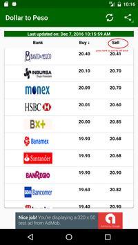 Dólar en Mexico apk screenshot