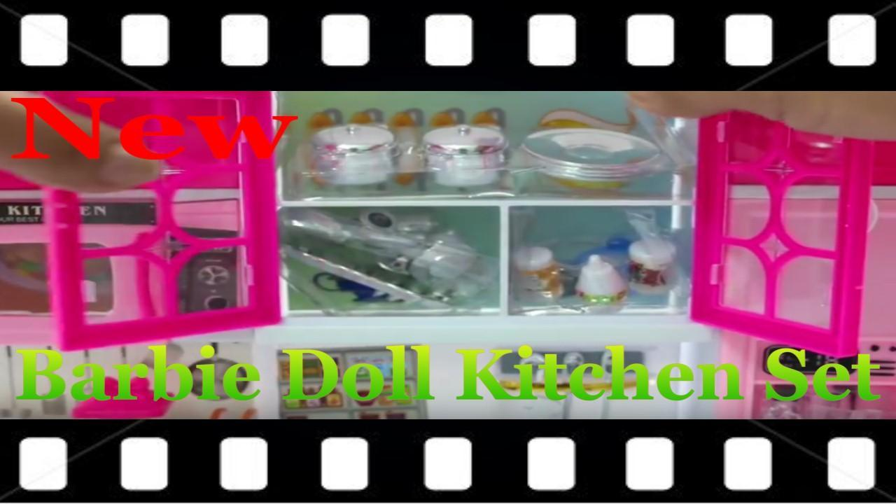 Barbie Doll Kitchen Set Toys Videos For Android Apk Download