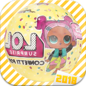 Surprise LoL Eggs oppening Dolls 2018 Hatchinals icon