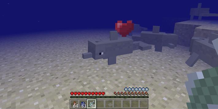Dolphins Addon for Minecraft poster