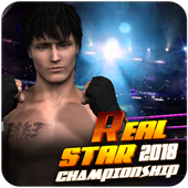 Real Star Boxing Punch : 3D Wrestling Championship icon
