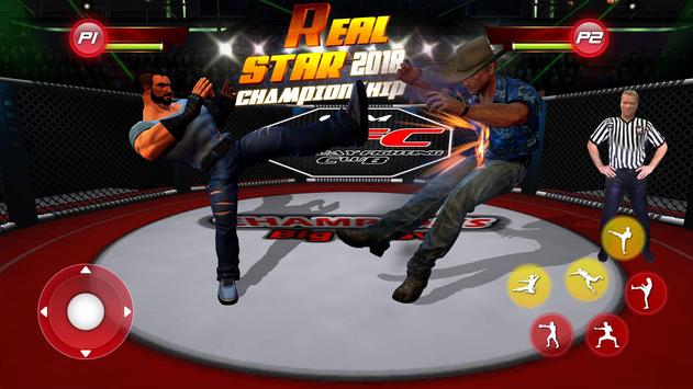 Real Star Boxing Punch : 3D Wrestling Championship poster