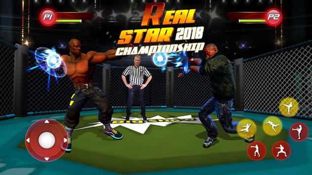 Real Star Boxing Punch : 3D Wrestling Championship screenshot 13