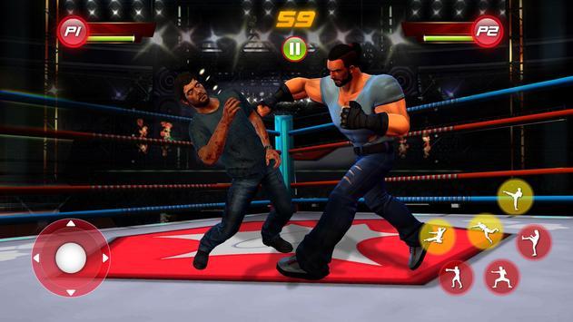 Real Star Boxing Punch : 3D Wrestling Championship screenshot 1