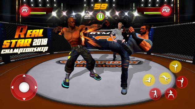 Real Star Boxing Punch : 3D Wrestling Championship screenshot 2