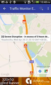 Traffic Monitor England apk screenshot