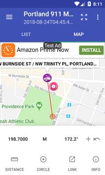 Portland 911 Incidents Monitor screenshot 4