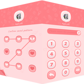 AppLock Theme Pink icon