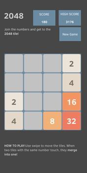 2048 (Original) screenshot 1