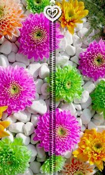 Flowers Zipper UnLock apk screenshot