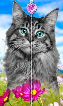 Kitty Cat Zipper UnLock screenshot 3