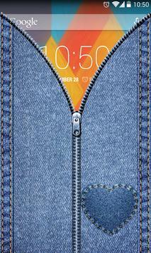 Jeans Zipper UnLock apk screenshot