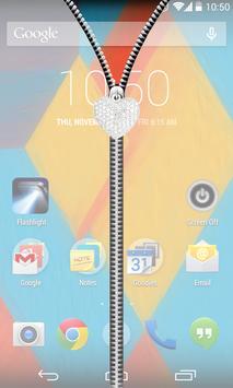 Transparent Zipper UnLock screenshot 1